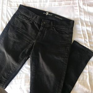 Black Roxanne Seven Skinny Jeans!